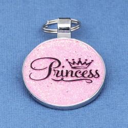 Princess Pet Tag