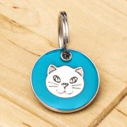 Aqua Cat Tag